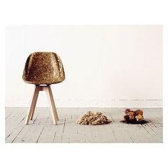 Artichair // Spyros Kizis  #chair #artichokes #design #architecture #furniture #interiors #interiordesign #art #modern #fuigo