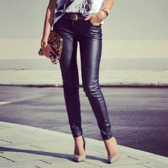 Bestshoes for leather pants (21)