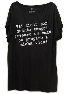 Tamanho Único Plano de Vida #moda #life #vida #plans #fashion #womenfashion #quote