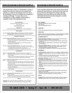 how to make a scannable resume pin scannable resume on pinterest