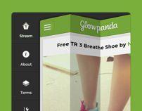 Glowpanda- Ios design and branding by Grégoire Vella, via Behance