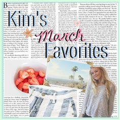 """Kim's March Favorites . ♥"" by heyyitskim ❤ liked on Polyvore"