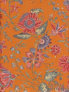 Tile Patterns, Textures Patterns, Fabric Patterns, Print Patterns, Millefiori Quilts, Chintz Fabric, Traditional Fabric, Motif Floral, Flower Backgrounds