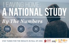Leaving Home: A National Study on Youth Homelessness in Canada Child Protective Services, Leaving Home, The Covenant, Infographics, Detroit, How To Remove, Youth, Canada, Study