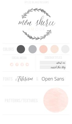 Mon Sheree Blog Design Template