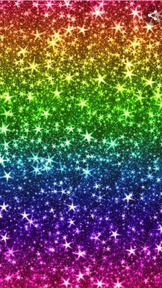 Glitter Phone Wallpaper, Cute Wallpaper For Phone, Rainbow Wallpaper, Perfect Wallpaper, Cellphone Wallpaper, Colorful Wallpaper, Galaxy Wallpaper, Whats Wallpaper, Star Wallpaper