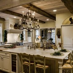 French Country Kitchen Design, Pictures, Remodel, Decor and Ideas - page 11