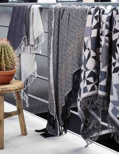 Madura This Edea Throw is successful blends classic and contemporary style. The understated chevron motif mixes with the modern geometric motif in perfect harmony.