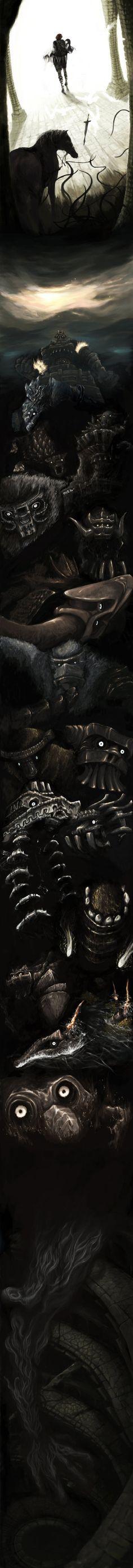 A história do jogo resumida em uma incrível imagem