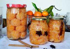 Mandarinas en almíbar - ChupChupChup Cook For Home, Toffee, Preserves, Pickles, Tapas, Mason Jars, Food And Drink, Sweets, Meals