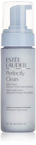 Estee Lauder Perfectly Clean Triple Action Cleanser for Unisex 5 Ounce -- Learn more by visiting the image link.