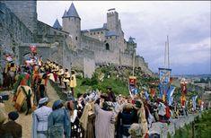 ¿Crees que así era la vida en Carcassonne durante la época medieval?