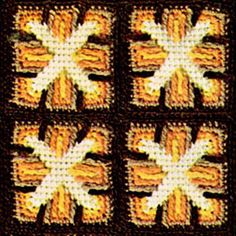 When the leaves start falling outside, you're going to need something to keep you warm inside. This Retro Windmill Afghan is the perfect crochet afghan for the job. Wonderfully warm autumn tones overlay each other to create this unique windmill motif.