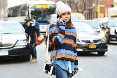 sweater e hat, meu gosto!