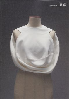 Innovative Pattern Cutting - elegant circular top; draping; creative sewing inspiration // Pattern Magic