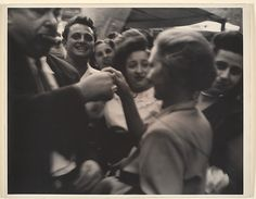 [Pedestrians on Mulberry Street, New York] Sid Grossman (American, 1913–1955) 1948