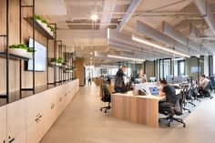 A Tour of RigUp's Cool New Austin Office Workspace Design, Office Interior Design, Office Interiors, Corporate Office Design, Corporate Offices, Open Office Design, Office Open Plan, Office Layout Plan, Cool Office Space
