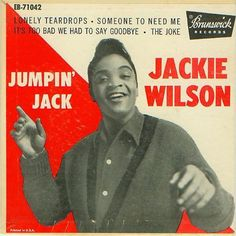 Jackie Wilson - It's too bad we had to say goodbye Good Music, Rock N Roll Music, Rock And Roll, Stars On 45, American Graffiti, American Teen, Rock Of Ages, Vintage Records