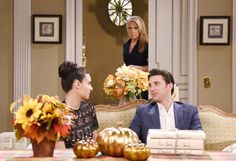 Week of 11/28/16: Gabi and Chad share a close moment, which Jennifer witnesses. #Daysofourlives #DOOL