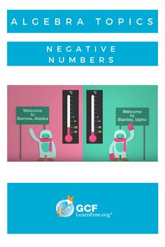If you struggle with negative numbers, don't panic! Between our short lesson and our new video, you should have it all figured out.