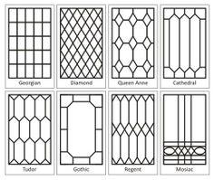 Leaded Glass Designs