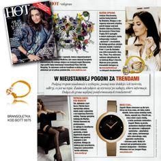 Czytacie Hot & Moda Shopping? W grudniowym numerze zobaczycie, jak Justyna Steczkowska dopracowała swój look idealnie dobraną biżuterią By Dziubeka #bydziubeka  #Justyna #Steczkowska  #jewlery #bransoletka #braclet  #yellow