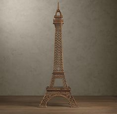 Restoration Hardware Eiffel Tower! Neato! Kansas City Symphony is getting in the spirit to present the Classics Uncorked: April in Paris at 7 p.m. on April 17, 2014. All Tickets are $25 and include a glass of wine or champagne. http://tickets.kcsymphony.org/single/psDetail.aspx?psn=5945