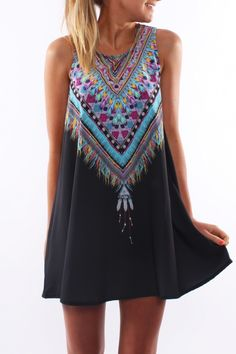 Lakota Dress Black