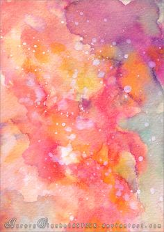 Candy colored - WATERCOLOR STOCK PACK - V by AuroraWienholdSTOCK