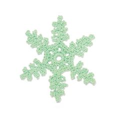 Crochet snowflake: Dendrite FREE pattern, thanks so xox