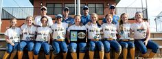 Congratulations to the following Windermere Wildfire 2000 team members for winning two recent softball tournaments: (front, l. to r.) Lauren Evans, Sam Guider, Megan VanGerena, Grace Gregorie, Claire McDonnell, Erin Rogers, Casey Heinle, Grace Turner, Kelly Dwyer, and (back, l. to r.) coaches Rick Evans, Richard Gregorie, Rob Turner and Mike McDonnell.