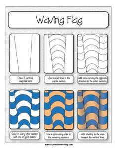 This Op Art lesson includes the presentations, handouts, rubrics and labels to help you with your lesson from start to finish! Your students will learn how the elements of art, LINE and VALUE, are used to create this Op Art design. Doodles Zentangles, Zentangle Patterns, Art Patterns, Middle School Art, Art School, High School, Draw Tutorial, Op Art Lessons, Kids Drawing Lessons