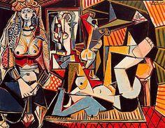 Algerian women (Delacroix) - Pablo Picasso