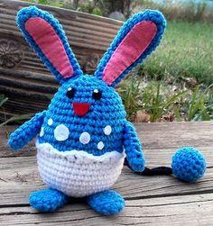 Azumarill Amigurumi Pattern. Cute for Easter - Gratis!