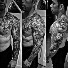 60 Family Tree Tattoo Designs For Men - Kinship Ink Ideas Good Family Tattoo, Family Tattoos For Men, Family Tattoo Designs, Tree Tattoo Designs, Tattoo Designs For Women, Tattoos For Guys, Tattoo Ideas, Future Tattoos, Tree Sleeve Tattoo