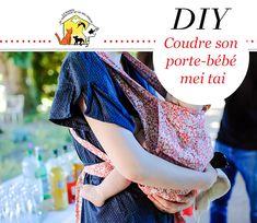 DIY Comment coudre son propre porte bébé mei tai - patron couture - motif  liberty   4963d40a368