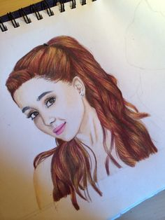 Ariana grande drawing 2014