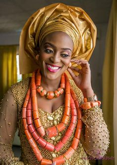 Traditional Nigerian Bride | Image by Posh Click Photography