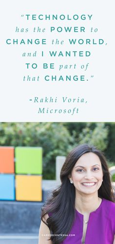 Learn about how Rakhi landed her dream job at Microsoft—despite the fact that her initial resume didn't necessarily fit the job description. | CareerContessa.com