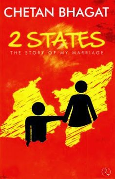 2 States: The Story of My Marriage [Nov Bhagat, Chetan] Books To Buy, Books To Read, My Books, Story Books, Chetan Bhagat Books, Marriage Movies, Buying Books Online, Famous Novels, Love And Marriage
