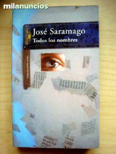 TODOS LOS NOMBRES DE JOSE SARAMAGO.