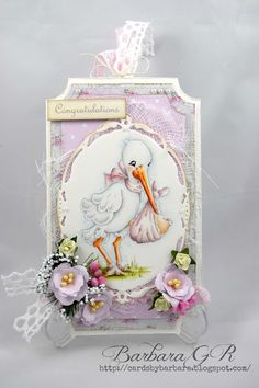 Cards by Barbara: Congratulations tag
