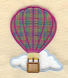 Hot air balloon. Add initial