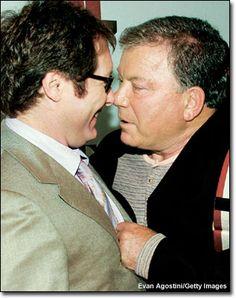 James Spader & William Shatner - miss that show!!  (Boston Legal)