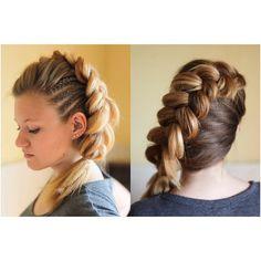 Sam Villa textured corn rows and Dutch diagonal braid Viking Hairstyles, Corn Rows, Beautiful Braids, Beauty Ideas, Dutch, Om, Villa, My Style, Hair Styles
