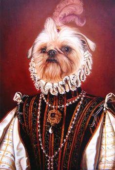 El Mejor Pintor Retratista De Perros.   Francis de Blas, El Mejor Pintor Retratista De Perros y Mascotas.