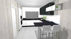 Vizualizácie   Kuchyne a kuchynské štúdiá DOMOSS Divider, Bathtub, Bathroom, Furniture, Home Decor, Standing Bath, Washroom, Decoration Home, Room Decor