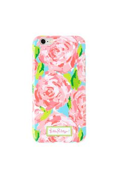 You love to be the first. That's why you ordered iPhone 6 Plus as soon as it came out. Well now you have a Lilly iPhone 6 Plus case - so your phone can officially be dressed in the best - just like you. Enjoy your new phone case in your favorite Lilly prints. Hint: this makes the best give ever, too.