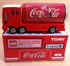 Tomica JAPAN KUJI VIII 8 Coca Cola * Art Collection * ROUTE EVENT CAR Vintage