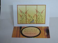 Penny Black Aspire stamp, panels, easel card, handmade cards, rubber stamping